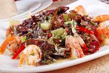 Free Shrimp Salad 2 Royalty Free Stock Images - 19885059