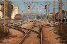 Train Stations Stock Photography
