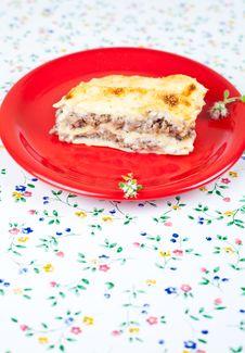Free Lasagna Bolognese Stock Image - 19886141
