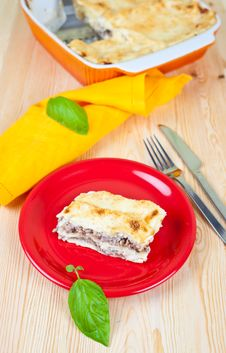 Free Lasagna Bolognese Stock Images - 19886154