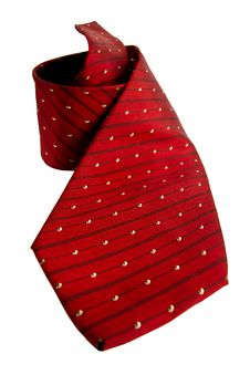 Free Red Striped Necktie Royalty Free Stock Photography - 19886477