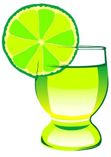Free Tequila And Lime Royalty Free Stock Photography - 19887997