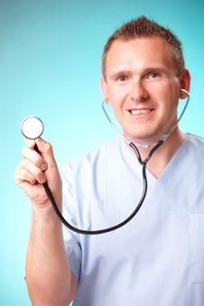 Free Cheerful Doctor Stock Photo - 19888680
