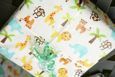 Free Childrens Gift Wapped Present Stock Photography - 19888692
