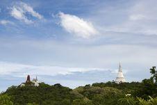 Free View Of Wat Maha Samanaram Stock Photography - 19888722