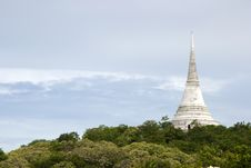 Free View Of Wat Maha Samanaram Royalty Free Stock Images - 19888789