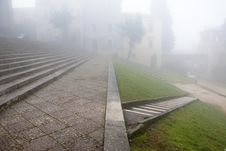 Free Fog, Todi, Next To S. Fortunato Church Stock Photo - 19888910