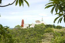 Free View Of Wat Maha Samanaram Stock Photo - 19889020