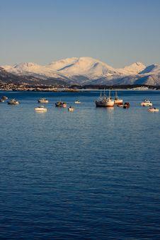 Free The Norwegian Coastline Royalty Free Stock Photos - 19889028