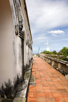 Royal Observatory On Khao Wang Stock Photos