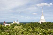 Free View Of Wat Maha Samanaram Royalty Free Stock Photo - 19889105