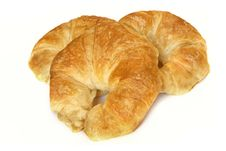 Free Croissants Royalty Free Stock Image - 19889116