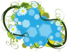 Free Floral Banner Royalty Free Stock Image - 19889426