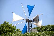 Free Greek Windmill Royalty Free Stock Photos - 19889818