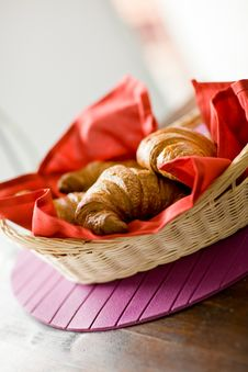 Free Croissants Royalty Free Stock Images - 19889969