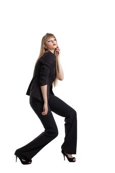 Free Young Business Woman Posing In Desire Royalty Free Stock Photo - 19889985