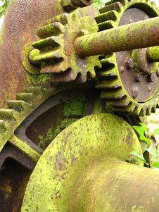 Free Old Gears Royalty Free Stock Photography - 19890217