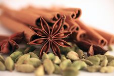 Free Aromatic Spices Royalty Free Stock Image - 19890856