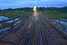 Free Wooden Bridge Stock Image - 19891261
