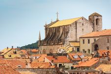Free The View Of Red Rooftops Of Dubrovnik Royalty Free Stock Photos - 19891528