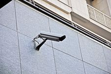 Surveillance Royalty Free Stock Photography