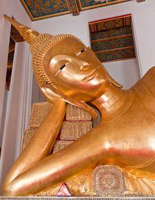 Free Reclining Buddha Royalty Free Stock Images - 19893029
