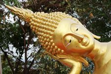 Free Closeup Of Buddha Face Stock Photo - 19893400
