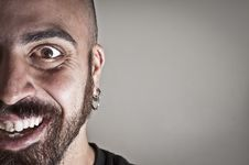 Free Mid-frontal Portrait Of Smiling Man Royalty Free Stock Photo - 19894265