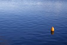 Free Yellow Buoy Royalty Free Stock Photos - 19894348