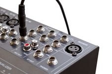 Free Isolated DJ Mixer Royalty Free Stock Images - 19894419