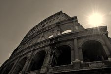 Free Colosseum Royalty Free Stock Photo - 19897165