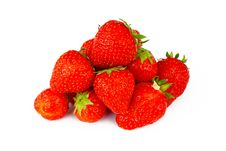 Heap Of Strawberries Royalty Free Stock Photography
