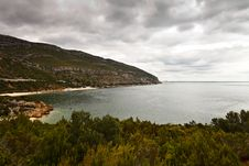 Landscape Of The Natural Park Of Arrabida Stock Photography