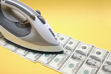 Free Money Ironing Royalty Free Stock Photos - 19897618