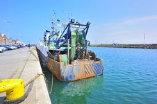 Free Fish Boat  In Howth Ireland Royalty Free Stock Photography - 19897787