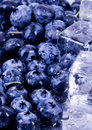 Free Cold Blueberries Royalty Free Stock Images - 1990979