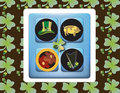 Free St-Patrick S Greetings Card Stock Images - 1992934
