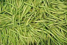 Free Green Beans Royalty Free Stock Photography - 1990237