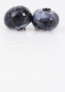 Free Blueberries Royalty Free Stock Photography - 1990827
