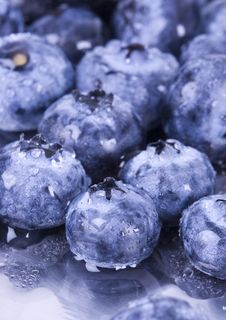 Free Fresh Blueberries Royalty Free Stock Photos - 1990838