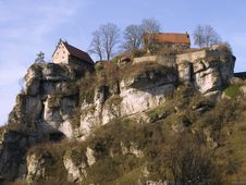 Free Castle On A Rock Royalty Free Stock Photos - 1991538