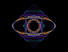 Free Ornate Diamond Pattern Stock Image - 1991871