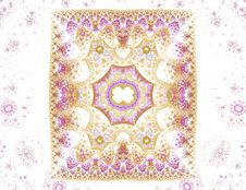 Free Sponge Technique Illustration Of A Antique Carpet-like Pattern Royalty Free Stock Images - 1992059