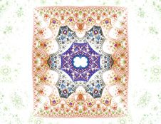 Free Sponge Technique Illustration Of A Antique Carpet-like Pattern Royalty Free Stock Image - 1992066