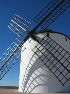 Free White Windmill Royalty Free Stock Photos - 1992838