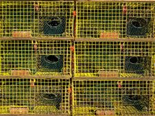Free Lobster Traps Stock Photo - 1993110