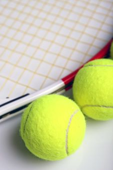 Free Tennis Equipment Stock Photography - 1993452
