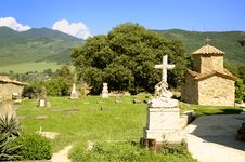 Cemetery In Countryside