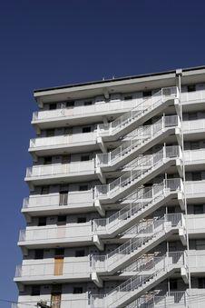 Urban Apartment Building Royalty Free Stock Photo