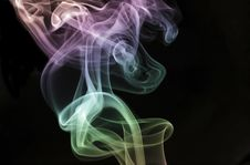 Free Rising Pastel Smoke Stock Photos - 1994333